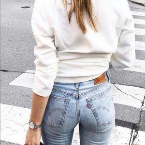 Levi's 711 Skinny Jeans Light Wash Sz 28